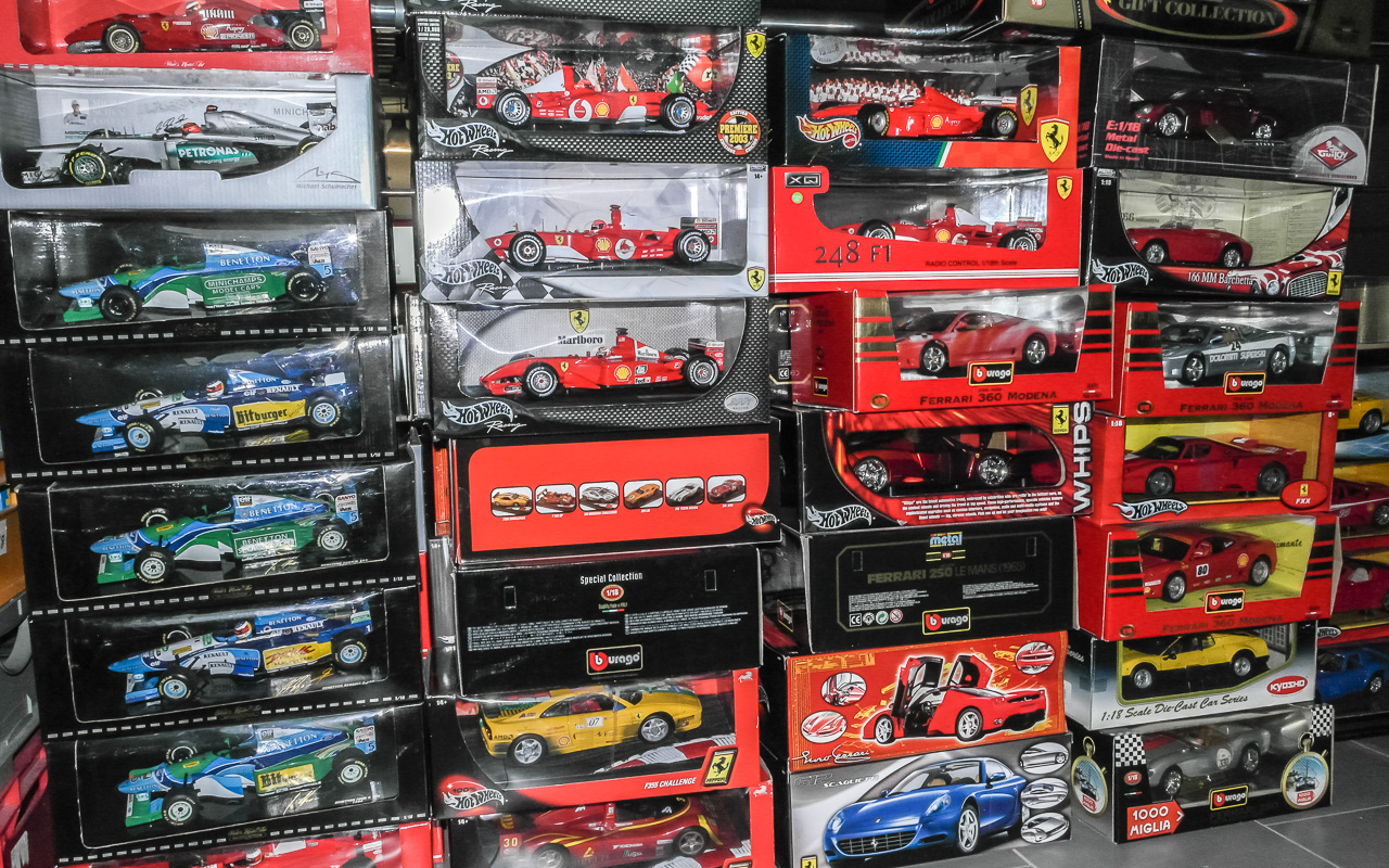 Ferrari Modellauto Sammlung
